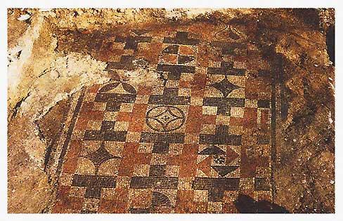 Mosaikboden, Gutshof in Kerath